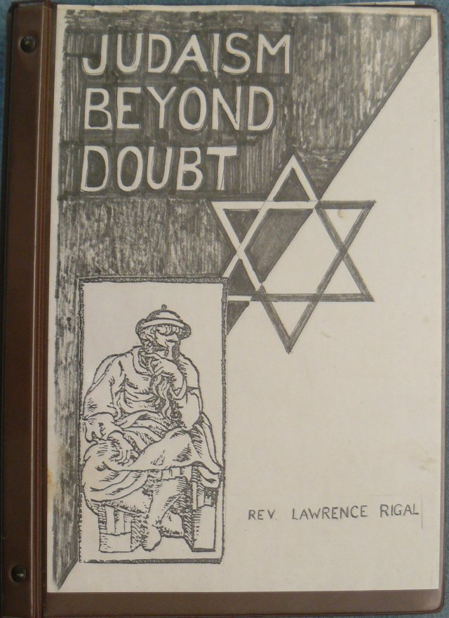 Judaism Beyond Doubt - Front Cover